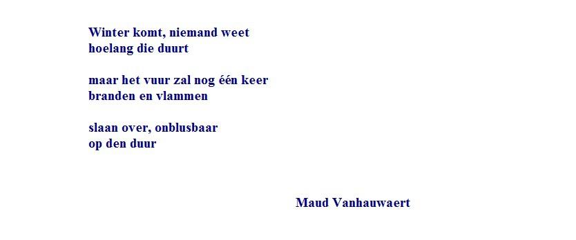 Gedicht Wv